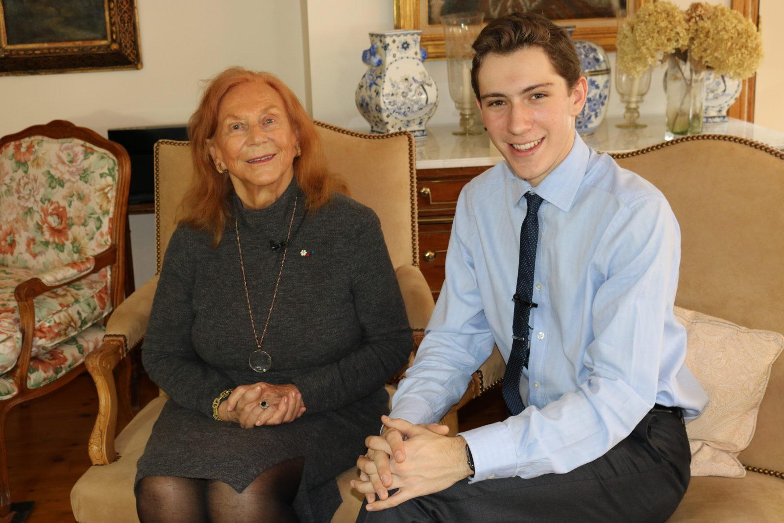 Graham Beer sits down with philanthropist Helen Vari