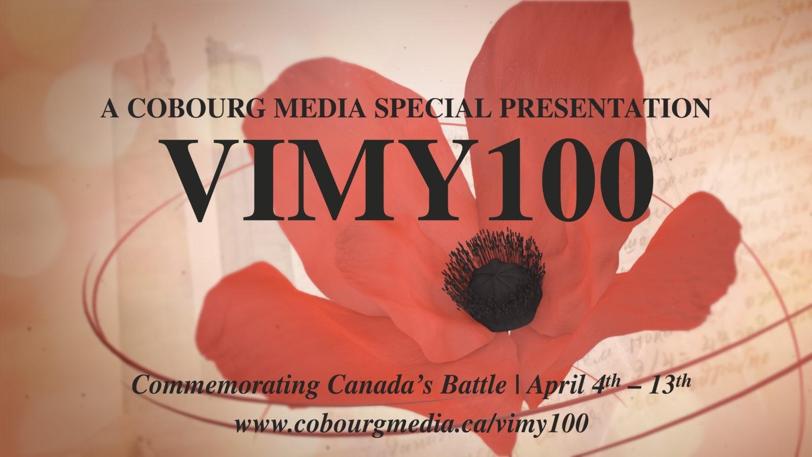 Vimy100- Commemorating Canada's Battle